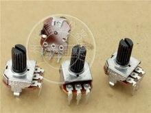 Original novo 100% 12 tipo quadrado vertical único potenciômetro RV012A-40 b500r b500k punho longo 12mm (interruptor)