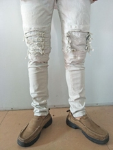 fashion biker denim high