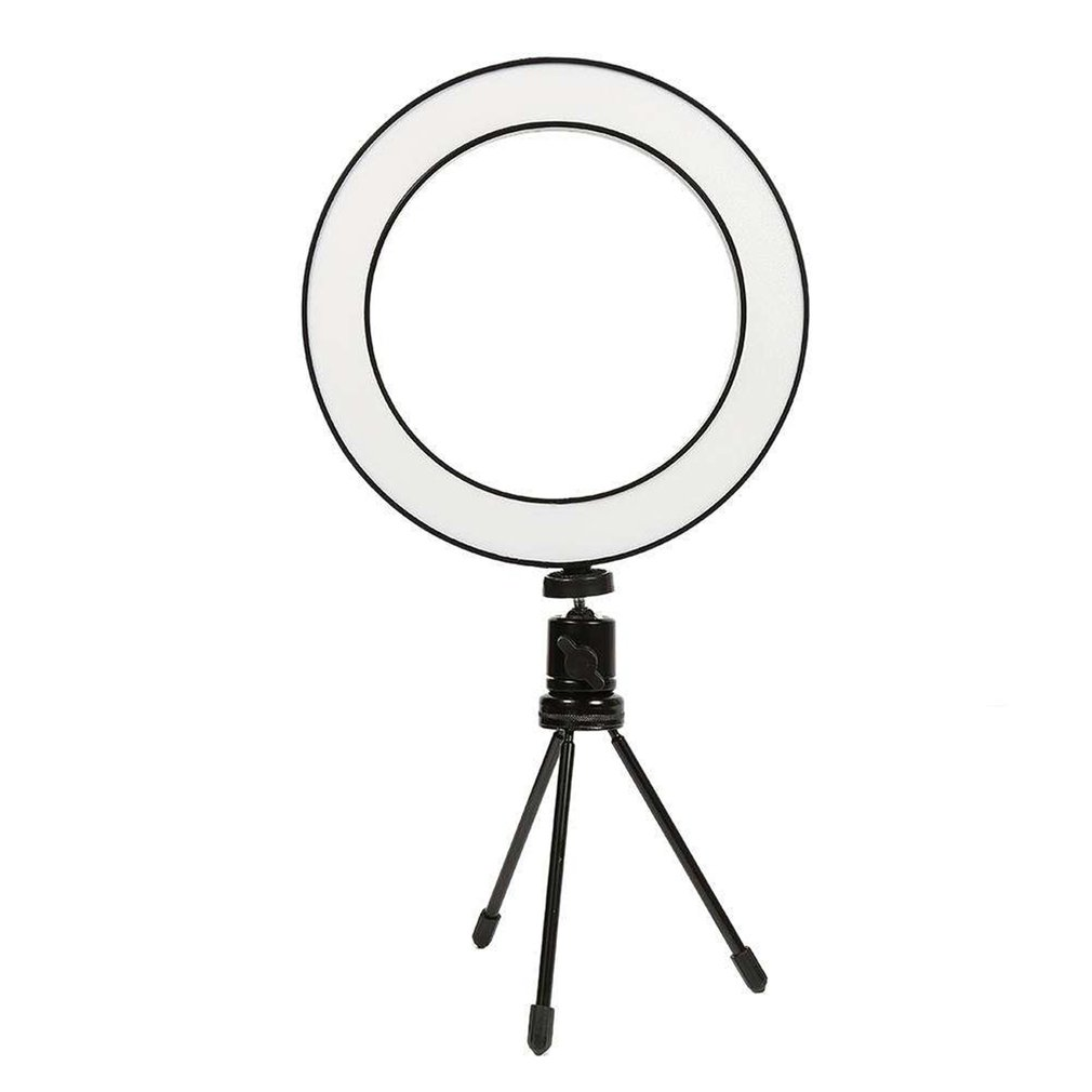 Portable 8 inches Mini LED Ring Light 3200K 5500K USB Video Light Circular Lamp 80 LED for YouTube Photo Shooting in Photographic Lighting from Consumer Electronics