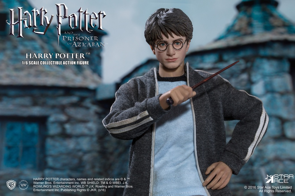 1:6 scale figure doll Harry Potter and the Prisoner of Azkaban 12 Action figure doll Collectible model plastic toy star ace toys sa0001 the 1 6 scale young harry potter and the sorcerer s stone collectible action figure dolls gift collections