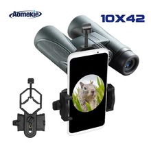 AOMEKIE Professional 10X42 Binoculars FMC Lens HD Wide Field of View for Hunting