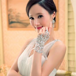 bridal gloves 4