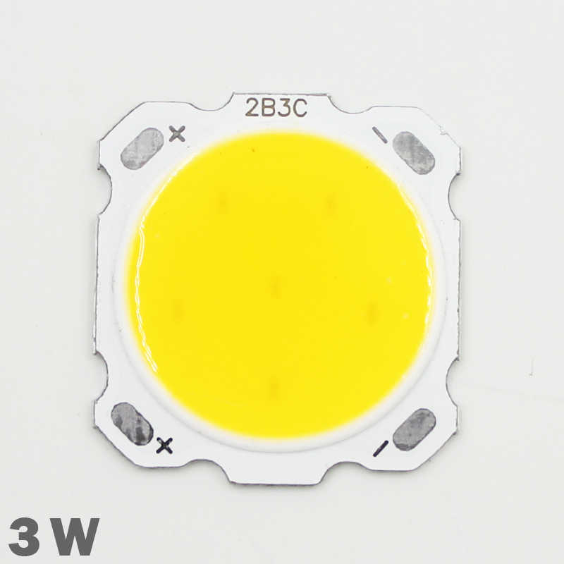 10pcs 3W LED COB Chip 280-300mA 180-200lm Chip Input DC9-11V Chip Size 28mm-20mm Fit For DIY LED Floodlight Spotlight