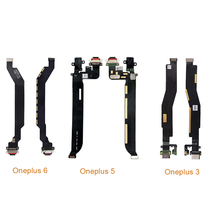 USB Charger Charging Port Dock Connector Flex Cable For Oneplus 3 3T 5 5T 6 6T orginal charging connector flex