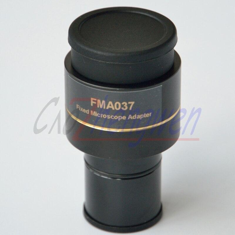 Il trasporto libero, 0.37x Fotocamera Microscopio Oculare Adattatore 0.37X riducendo obiettivo, wth23.2mm dia, microscopio fotocamera adattatore lenti