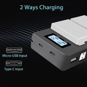 Image 5 - PALO 2 pièces 1800mah LP E8 LPE8 LP E8 Batterie AKKU + LCD double chargeur pour Canon EOS 550D 600D 650D 700D X4 X5 X6i X7i T2i
