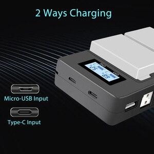 Image 5 - PALO 2 uds 1800mah LP E8 LPE8 LP E8 batería AKKU + LCD cargador Dual para Canon EOS 550D 600D 650D 700D X4 X5 X6i X7i T2i