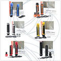 New 6 Colors Option BARRACUDA 7/8'' 22mm Motorcycle Handle bar ends Handlebar Grips FOR HONDA CBR400 CB400 VTEC MC22 MC29 CB750