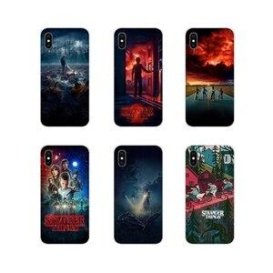 Silikonu telefon skrzynki pokrywa dla Apple iPhone X X XS MAX 4 4S 5 5S 5C SE 6 6S 7 8 Plus ipoda touch 5 6 Hot TV nieznajomego rzeczy poste