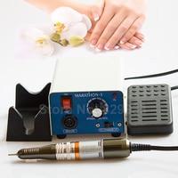 New Professional Nail Electric Tập Khoan Acrylic Manicure Pedicure Marathon Micromotor Máy kit Gốc Hàn Quốc SAEYANG
