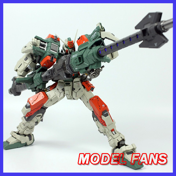 MODEL FANS IN-STOCK MB moshow poison toys 1/72 Buster Gundam high quality contain led light toy action figure цены