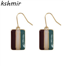 kshmir Simple, fashionable, temperament, and all kinds of earrings. Color metal geometric Earrings Ms fine jewelry