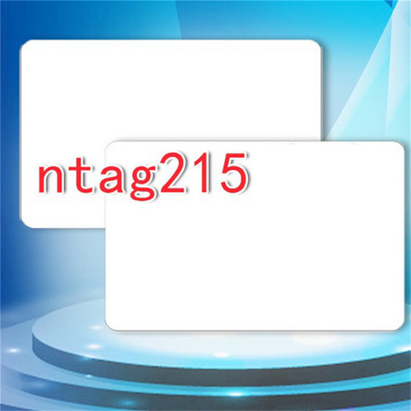 Free Shipping 10pcs/Lot NTAG215 NFC Cards RFID Smart Tag NFC Forum Type 2 Tag NTAG215 Chip White Card for All NFC Mobile Phone
