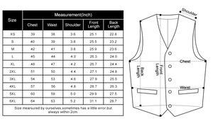 Image 5 - Mens Classic Party Wedding Paisley Plaid Floral Jacquard Waistcoat Vest Pocket Square Tie Suit Set Pocket Square Set