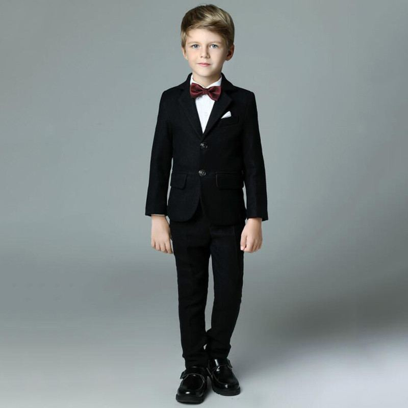 New Baby Boy Suit For Wedding Piano Party Teen Boys Blazer+Vest+Pant+Shirt+Bowtie 5 Pcs Kids Boys Suits Formal Clothes Sets Y103New Baby Boy Suit For Wedding Piano Party Teen Boys Blazer+Vest+Pant+Shirt+Bowtie 5 Pcs Kids Boys Suits Formal Clothes Sets Y103