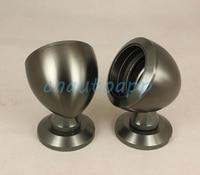 Car Tweeter Aluminium Base Speaker Boxes - Titanium Color    ( One Pair )