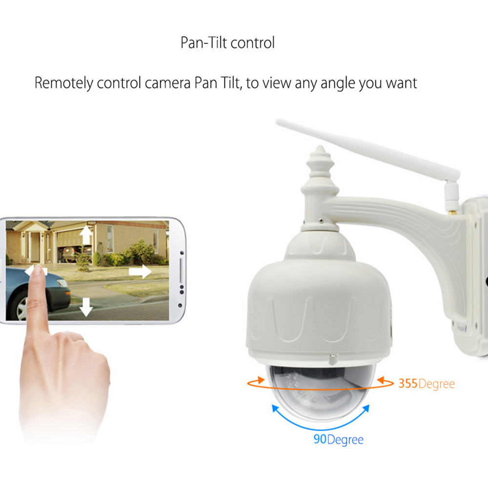 Image 2 - VStarcam Wireless PTZ Dome IP Camera Outdoor 720P HD 4X Zoom CCTV Security Video Network Surveillance IP Camera Wifi-in Surveillance Cameras from Security & Protection