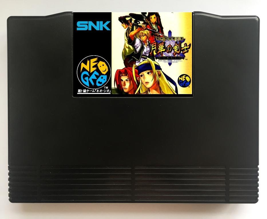 NEOGEO AES Last Blade 2 Team Edition(Hacked) Game Cartridge and ShockBox for SNK NEO GEO AES Console