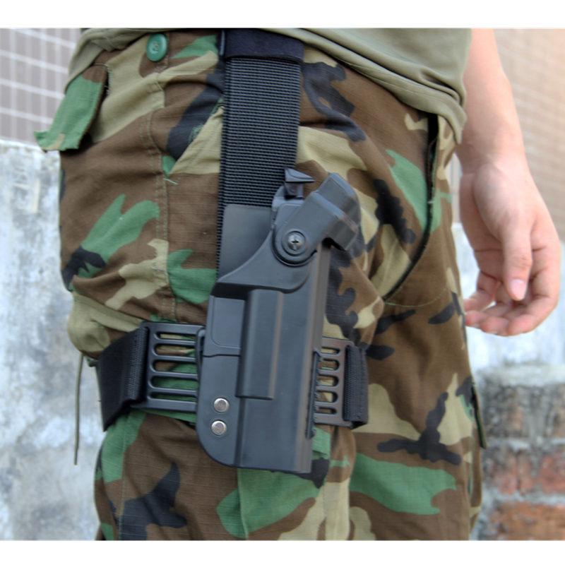 Tactische geweerholster voor Glock Militaire valpoot Airsoft - Jacht