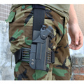 Tactical gun holster for Glock Military drop leg Airsoft Hunting Shooting Roto Handed Gun pistol Holster BK/TAN for G17 G19 G22
