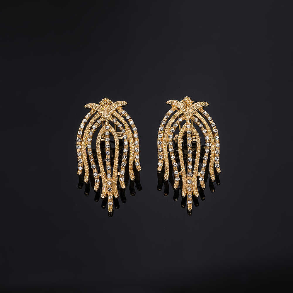MUKUN mode perles africaines ensemble de bijoux marque exquise Dubai or-coloré ensemble de bijoux nigérian femme mariage nuptiale Bilace ensemble