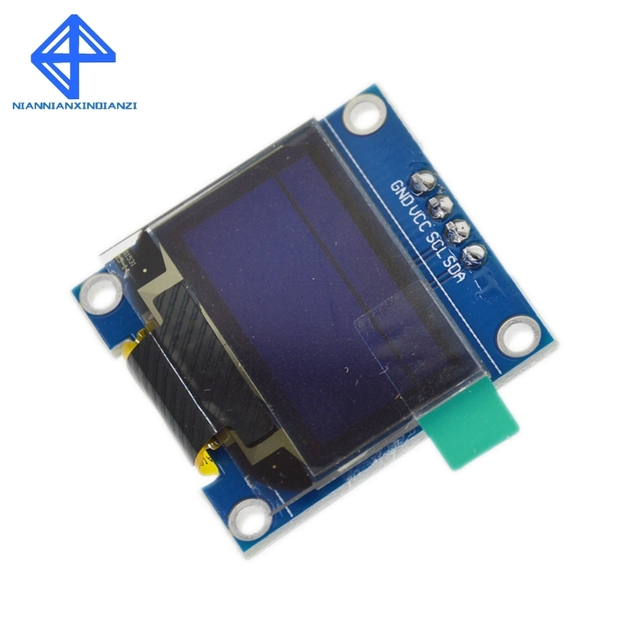 Blue White color 128X64 Yellow Blue OLED LCD LED Display Module For Arduino 0.96 inch I2C IIC Serial new original 4