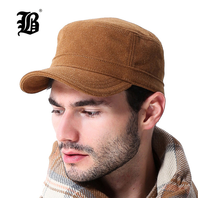 a80a6528e44  FLB  Autumn And Winter Baseball Cap warm Sports Solid hats leaf sport cap  for