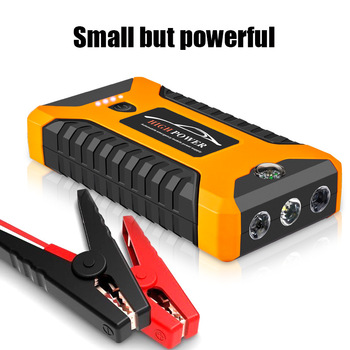 Car Jump Starter Portable 600A 4 USB Car Battery Booster Charger