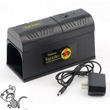 Электрическая Мышь Крыса ловушка Мышь Убийца электронный грызунов мышей Zapper Electrocute Мана киоре дома применение высокое напряжение