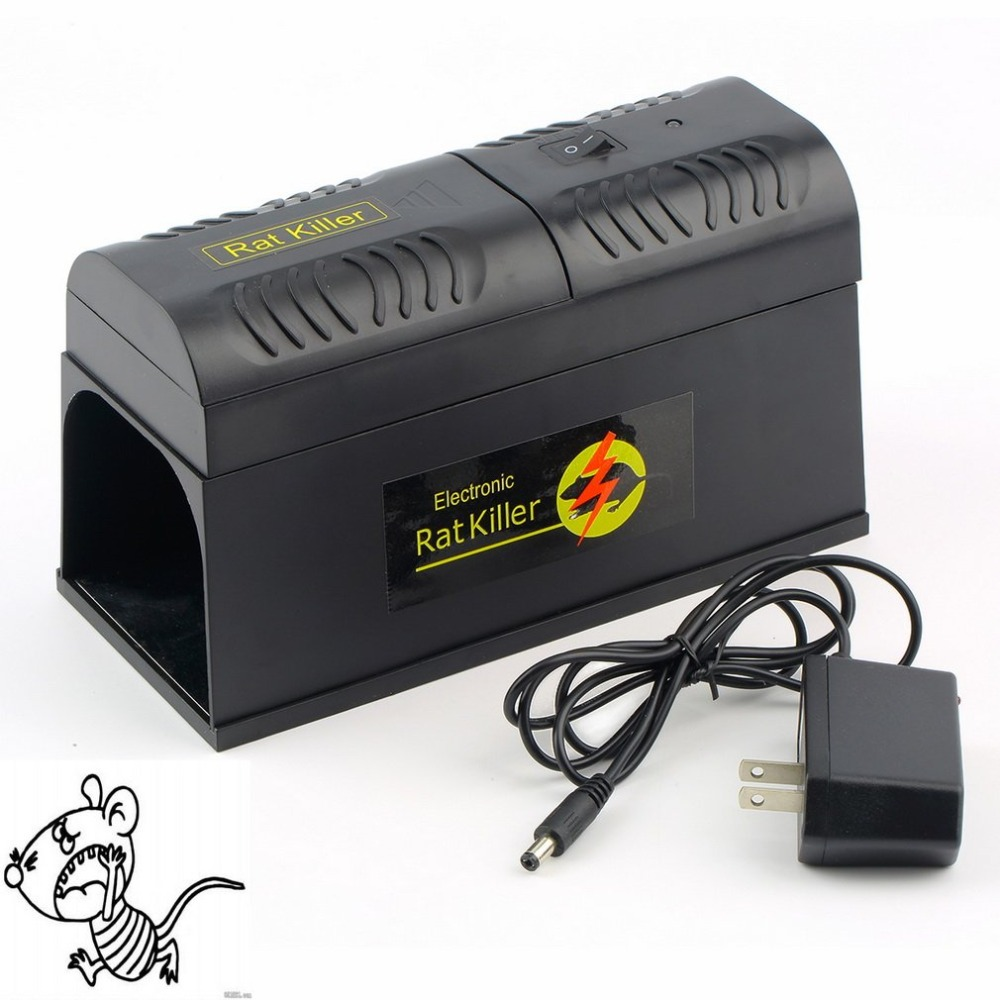 Elettrico Trappola Del Ratto Del Mouse Del Mouse Killer Elettronico Roditore Topo Zapper Electrocute Mana Kiore Uso Domestico Ad Alta Tensione