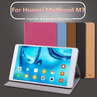 Case Sleeve For Huawei Mediapad M3 Ultra Slim Lightweight Folio Stand Cover Case For Huawei Mediapad