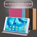 M3 ultra slim case funda para huawei mediapad/m3 ligero folio case cubierta del soporte para huawei mediapad 8.4 pulgadas case