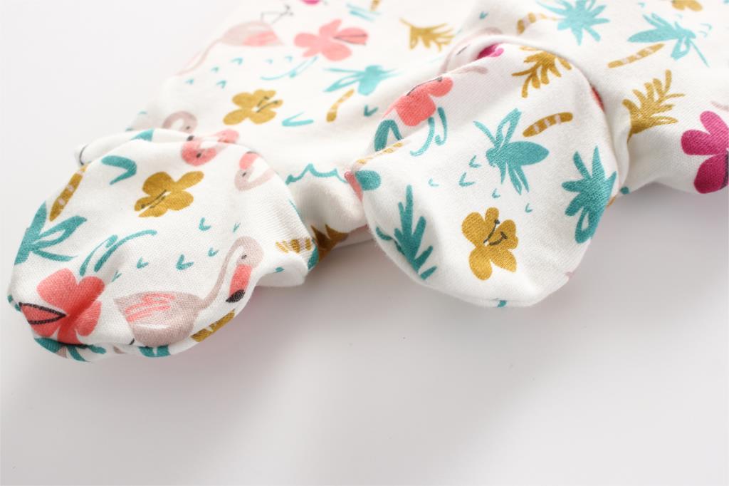 HTB1Ta7XPbrpK1RjSZTEq6AWAVXaY Baby Girl Romper Newborn Sleepsuit Flower Baby Rompers 2019 Infant Baby Clothes Long Sleeve Newborn Jumpsuits Baby Boy Pajamas