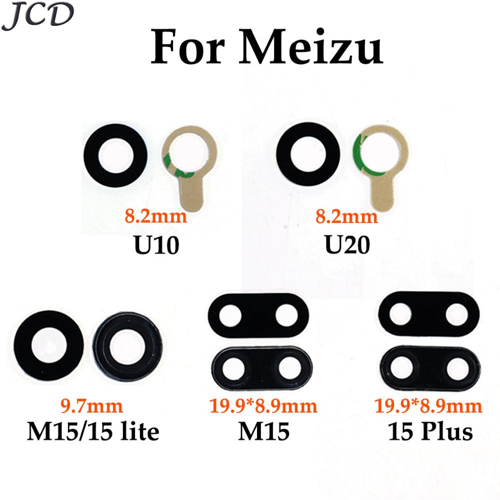 JCD For Meizu U10 / U20 / M15 / 15 Lite / 15 Plus / 15Plus Camera Lens Glass Cover With Adhesive Sticker