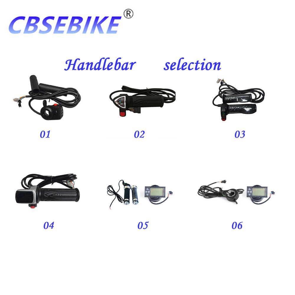 CBSEBIKE Ebike Front Wheel Kit High Speed Conversion 36v500w 48v500w 48v1000w 26Inch Hub Motor QB01-26