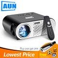 Мини-проектор 3200 люмен T90, 1280*768 (дополнительный проектор для android-устройств с 2,4G Air mouse, Bluetooth wifi, поддержка AC3) светодиодный телевизор