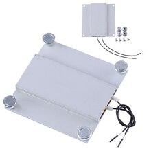 1pc 220V PTC Thermostat Heating Plate Soldering Station For TV LED Backlight Aluminum 68*70mm