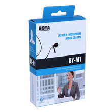 BY-M1 BY M1Lavalier Omnidirectional Condenser Microphone for Canon Nikon for BOYA iPhone7 Stereo DSLR Camcorder Audio Recorders