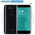 Doogee y6 teléfonos móviles 5.5 pulgadas hd 2 gb + 16 gb de huellas dactilares android6.0 mtk6750 qcta core 13.0mp dual sim 3200 mah wcdma lte gsm gps