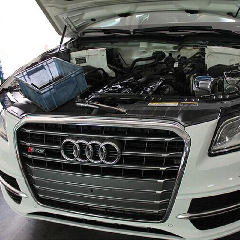 SQ5 Style Chrome Cadre Gris Avant Grill Grille Pour Audi