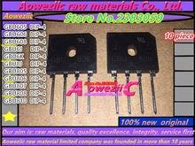 Aoweziic novo original gbu605 gbu606 gbu608 gbu610 gbu6j gbu6k gbu8j gbu805 gbu806 gbu807 gbu808 gbu810 retificador ponte chip