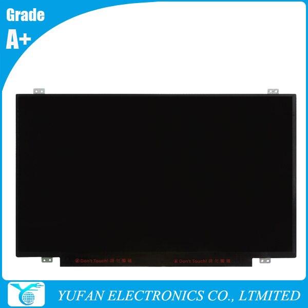Free Shipping Laptop Replacement Screen 04X5877 For E450 E455 LCD Display Panel WXGA eDP 30 Pins B140XTN03.2 17 3 original laptop panel replacement b173rtn01 3 tft lcd screen display 1600 900 edp 30 pins free shipping