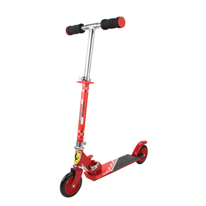 Image 4 - 120MM Folding Height Adjustable Foot Scooter Two Rounds Wheels Outdoor Double Damping Push Children Kick Scooter Wholesale