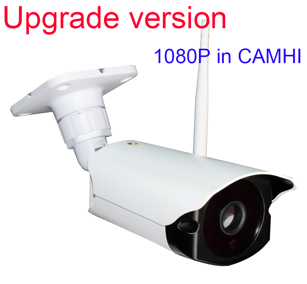 YUCHENG Wireless WiFi Outdoor 1920*1080P 2.0MP IP Camera SD Card Slot ONVIF CAMHI 2 Way Audio Recording SD Card Slot-in Surveillance Cameras from Security & Protection