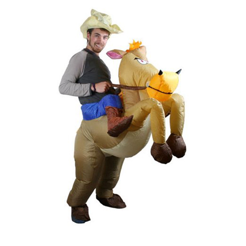 Adult Carnival Cowboy Costume Halloween Inflatable Horse Costume Fancy Dress Outfit-in Boys Costumes from Novelty u0026 Special Use on Aliexpress.com | Alibaba ...  sc 1 st  AliExpress.com & Adult Carnival Cowboy Costume Halloween Inflatable Horse Costume ...