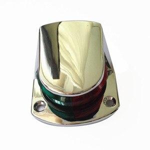 Image 4 - 12 V הימי סירת שיט אות מנורת אדום ירוק דו צבע 5 W ניווט מנורה