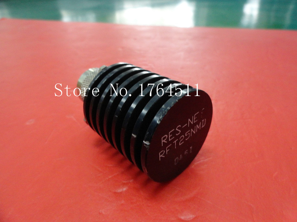 [BELLA] RES-NET RFT25NMD DC-4GHZ 25W N Supply Load  --2PCS/LOT