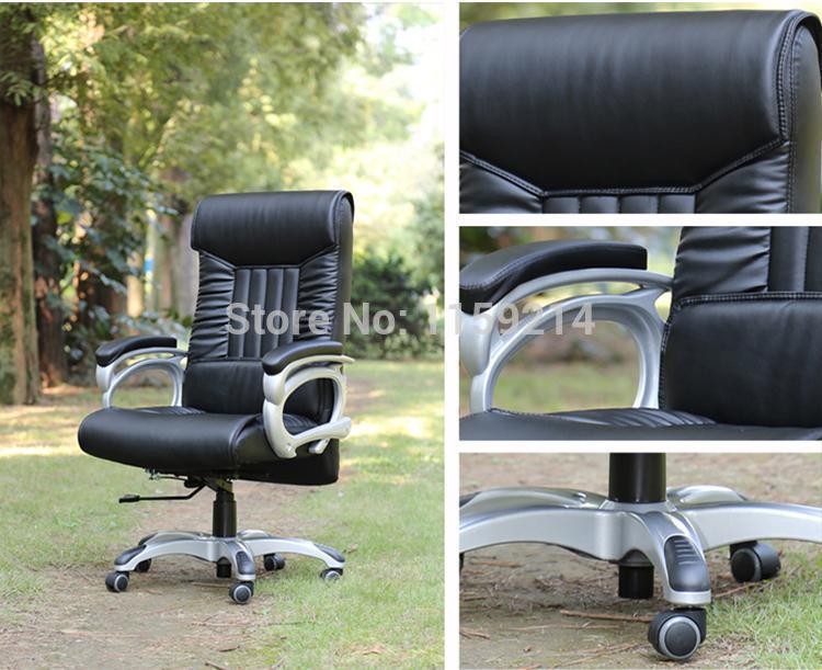 Colore bianco di rotazione sedia da ufficio sedia sgabello di