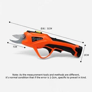 Image 5 - Sécateur électrique de jardin sans fil, sécateur Li ion 3.6V, outil électrique de taille et taille fruits, coupe des branches ET1505
