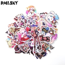 33 Pcs/set DMLSKY Suicide Squad Harley Quinn funny PVC Scrapbooking for Car Luggage Laptop phone Decal Diy Decoration M3120